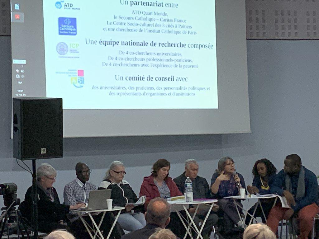 Présentation de la recherche aux 3 Cités à Poitiers